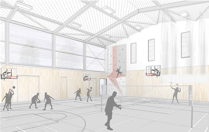 Belmont Preparatory School Sports Hall