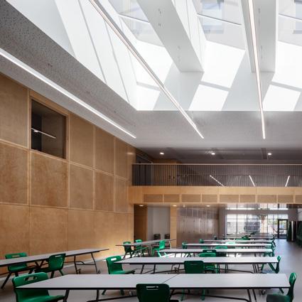 Forest Gate Community School expansion shortlisted for AJ Retrofit Awards