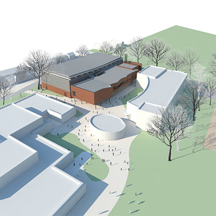 RSS Wins Competition for New German School Sports Building