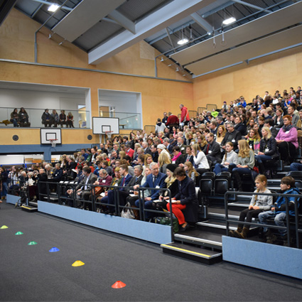 German School Sports Hall Opening