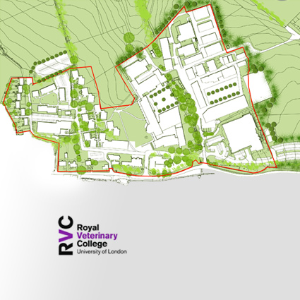 Hawkshead Campus Masterplan for Royal Veterinary College
