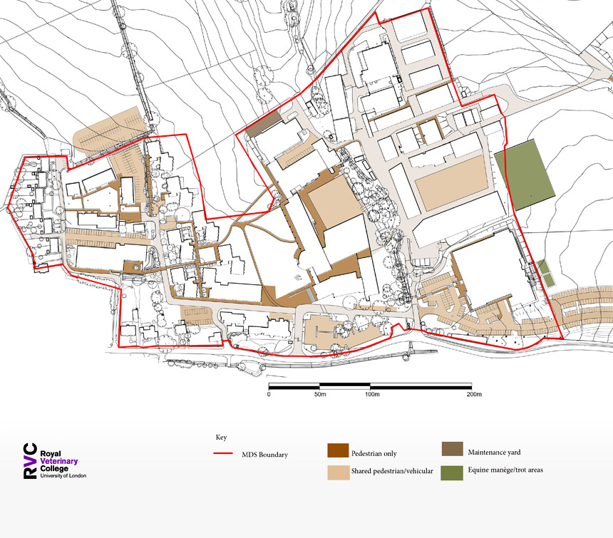 Royal Veterinary College. Hawkshead Campus Masterplan