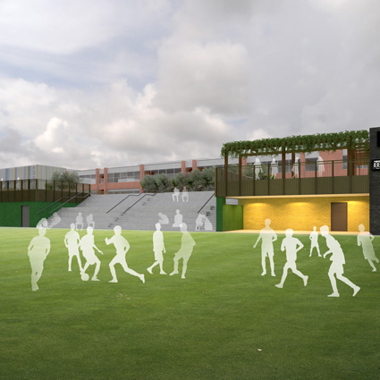 Forest Gate School expansion: Amenity Deck planning application