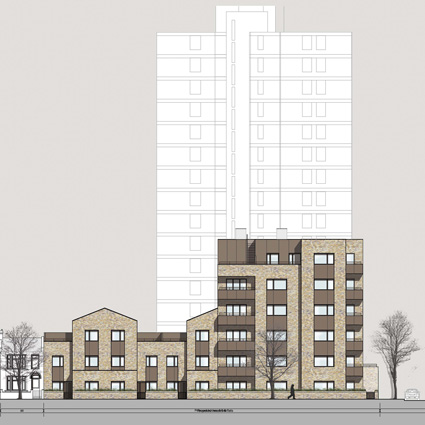 Newham Council housing submitted for Planning