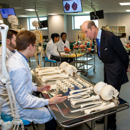 ARU School of Medicine officially opened