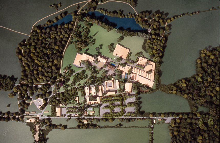 Middlesex University Trent Park Campus Masterplan