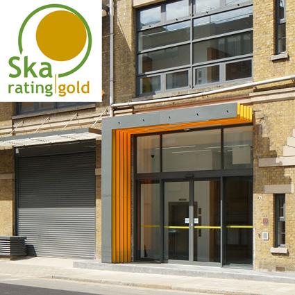 Whiskin Building Lecture Spaces project at City, University of London accredited a RICS SKA 'Gold'