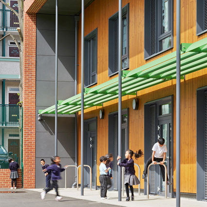 London's First Passivhaus School Completes