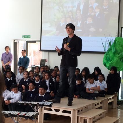 Grand Opening of Stebon Primary School