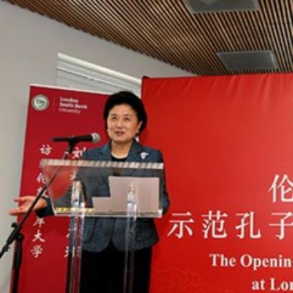 Confucius Institute Opens