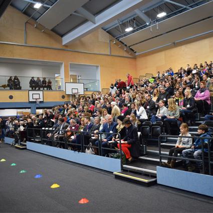 German School Sports Hall Opening