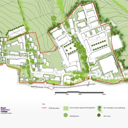 Royal Veterinary College. Hawkshead Campus Masterplan
