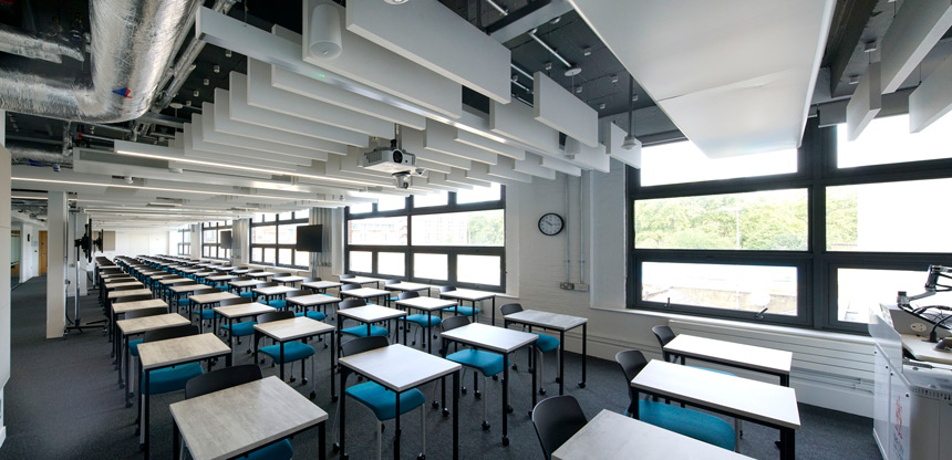 Whiskin Building Lecture Spaces