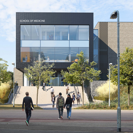Planning Approval for New School of Medicine