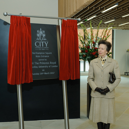 Official Opening of New Lecture Spaces at City, University of London