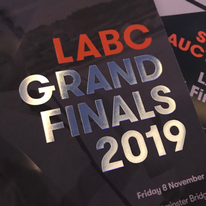 LABC Excellence Awards Grand Finals