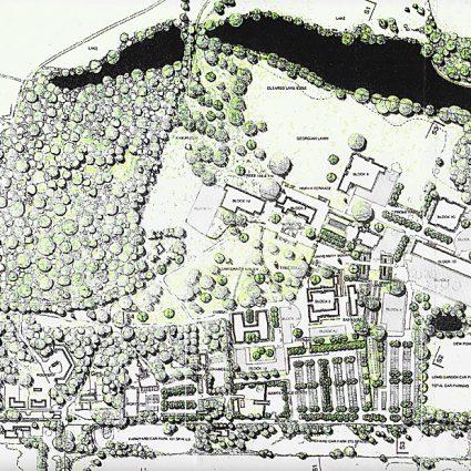Middlesex University Trent Park Campus Masterplan