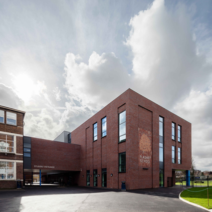 A New Arts Annex for Plashet School