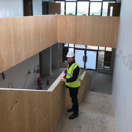 Latest site progress at Eleanor Smith School