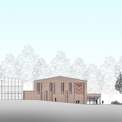 Planning Approval for a Sports Hall at Belmont School, Mill Hill